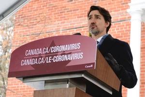 Trudeau Corona Virus